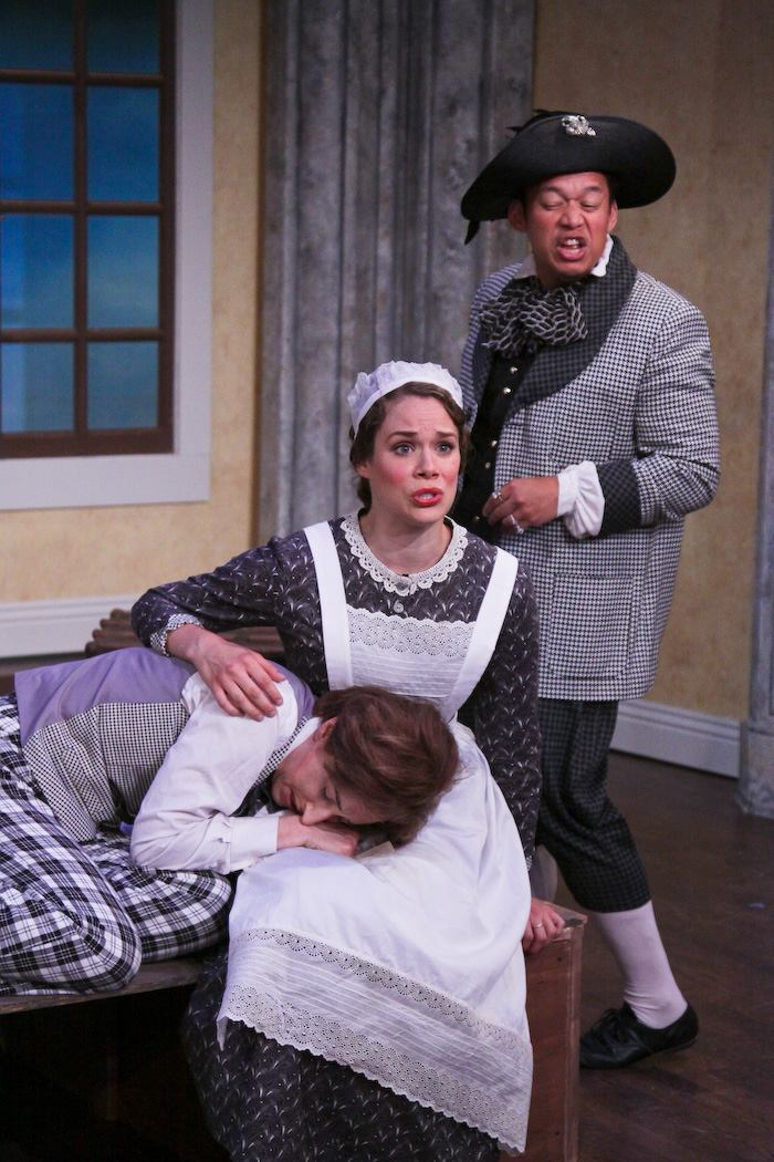 The Marriage of Figaro, with Cary Ann Rosko and Miguel Evangelista, photo by Eric Chazankin