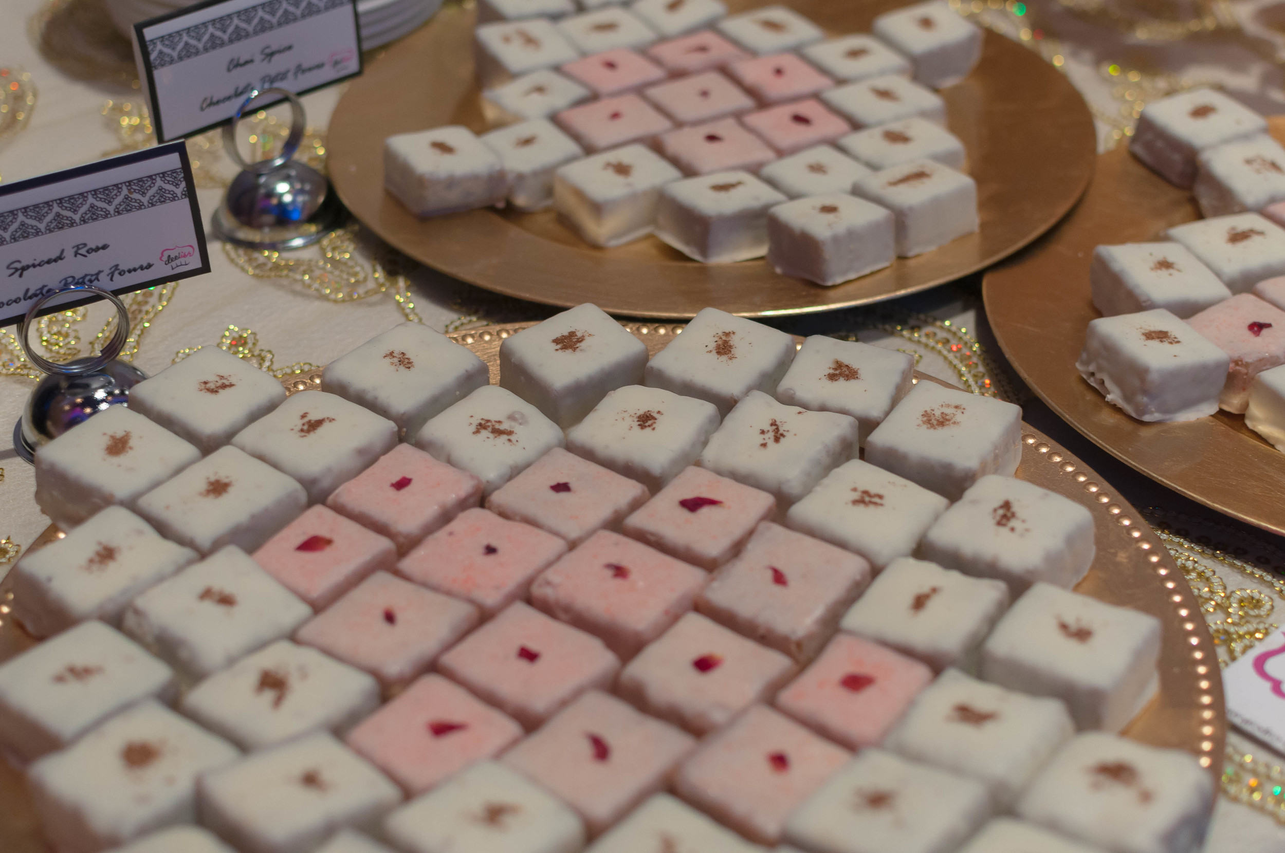 Tara and Ravi Chai Spice & Spiced Rose Petit Fours - 2.jpg