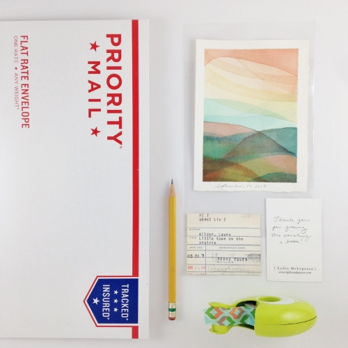 Avoid the top 10 shipping mistakes when sending your artwork and Etsy wares. | www.LydiaMakepeace.com