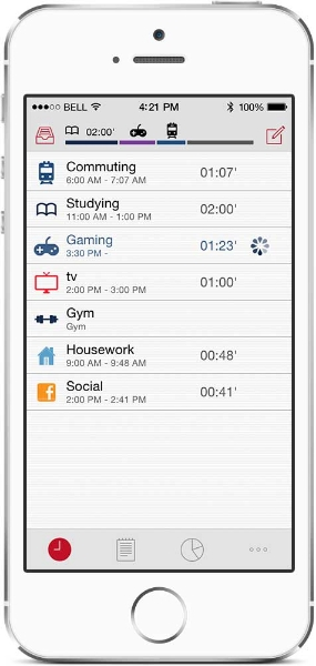 ATracker for daily task and time tracking