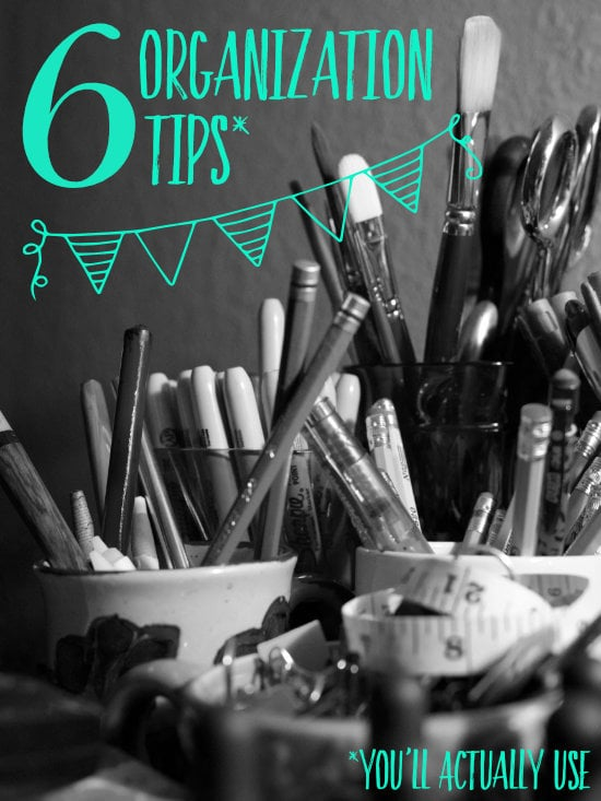 6 Studio Organization Tips You'll Actually Use