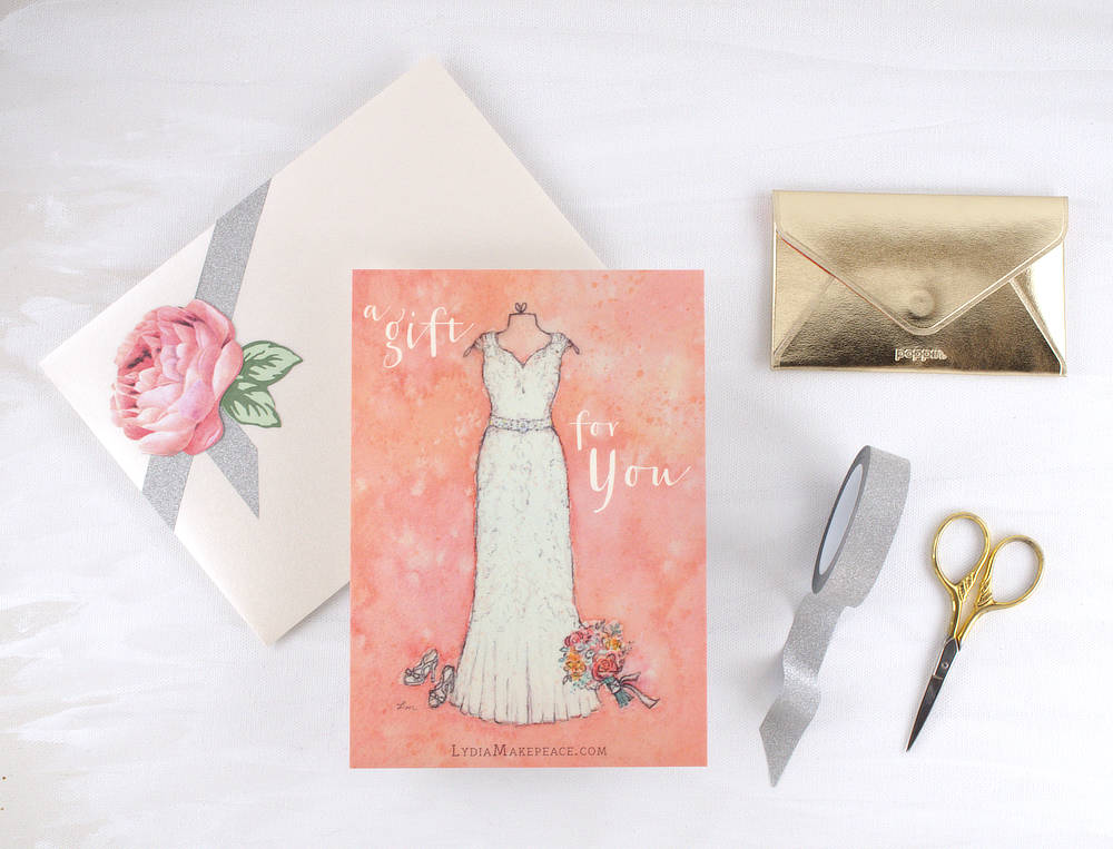 Wedding Portrait Gift Certificate | Lydia Makepeace