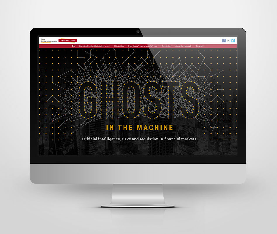 Ghosts in the Machine artwork