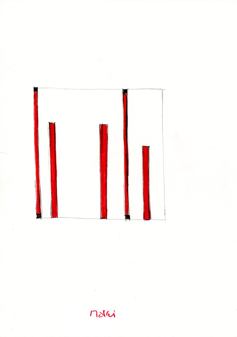 2106 , 2000-2013, pastel on paper, 21 x 29,7 cm