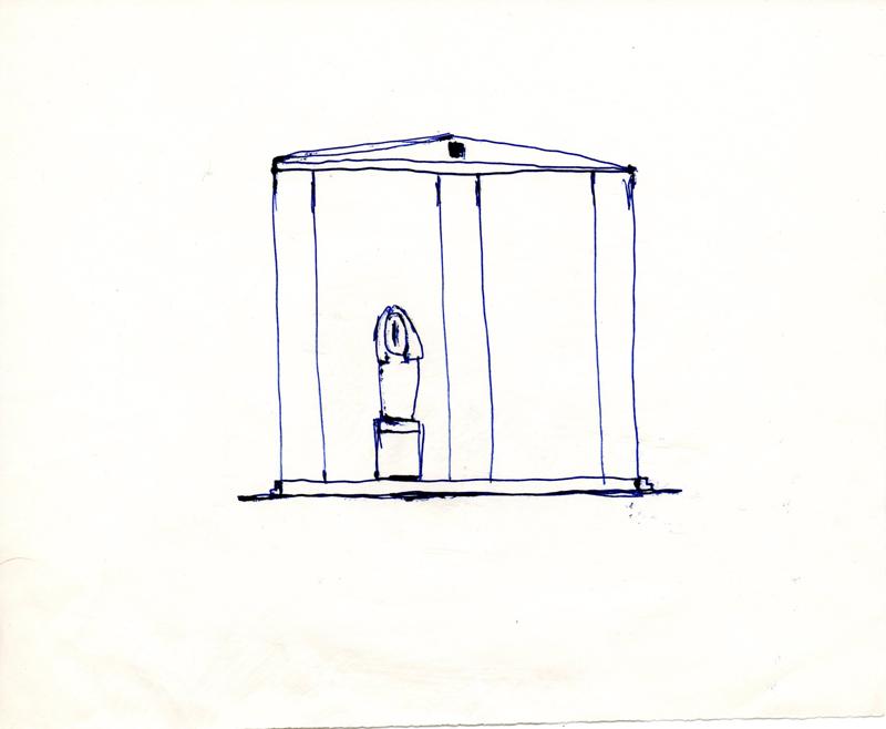 1159 , 1980-1999, pen on paper, 21 x 17,2 cm