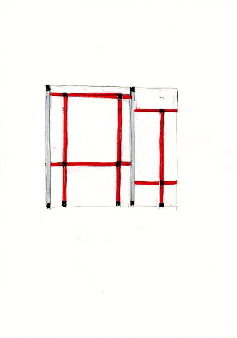 2107 , 2000-2013, pastel on paper, 21 x 29,7 cm