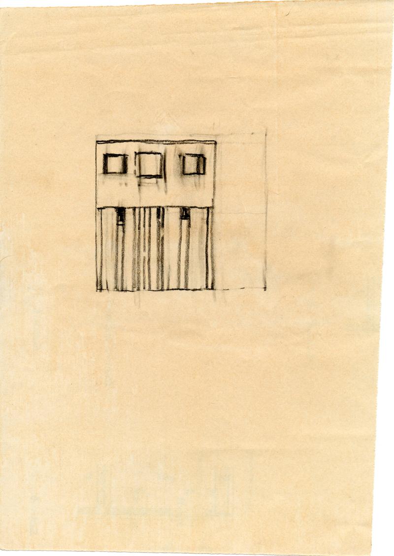 1221 , 1980-1999, pastel on paper, 20 x 28 cm