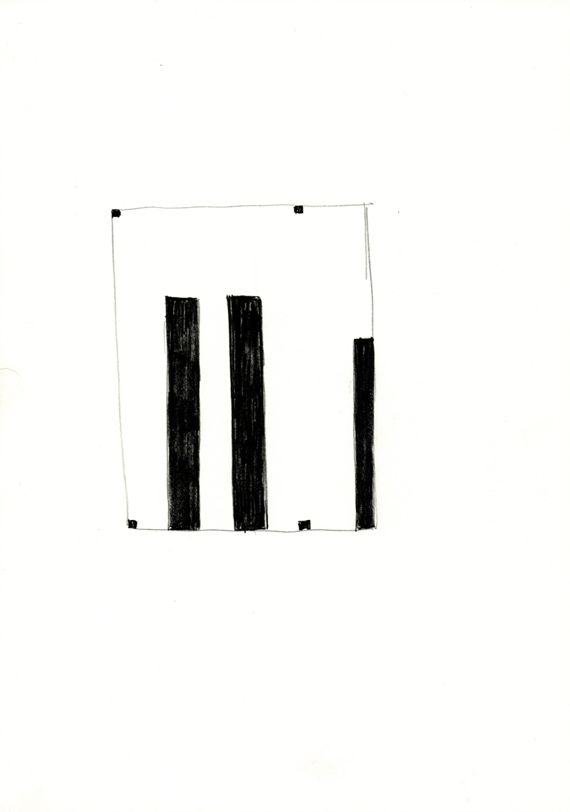 2024 , 2000-2013, pastel on paper, 21 x 29,7 cm