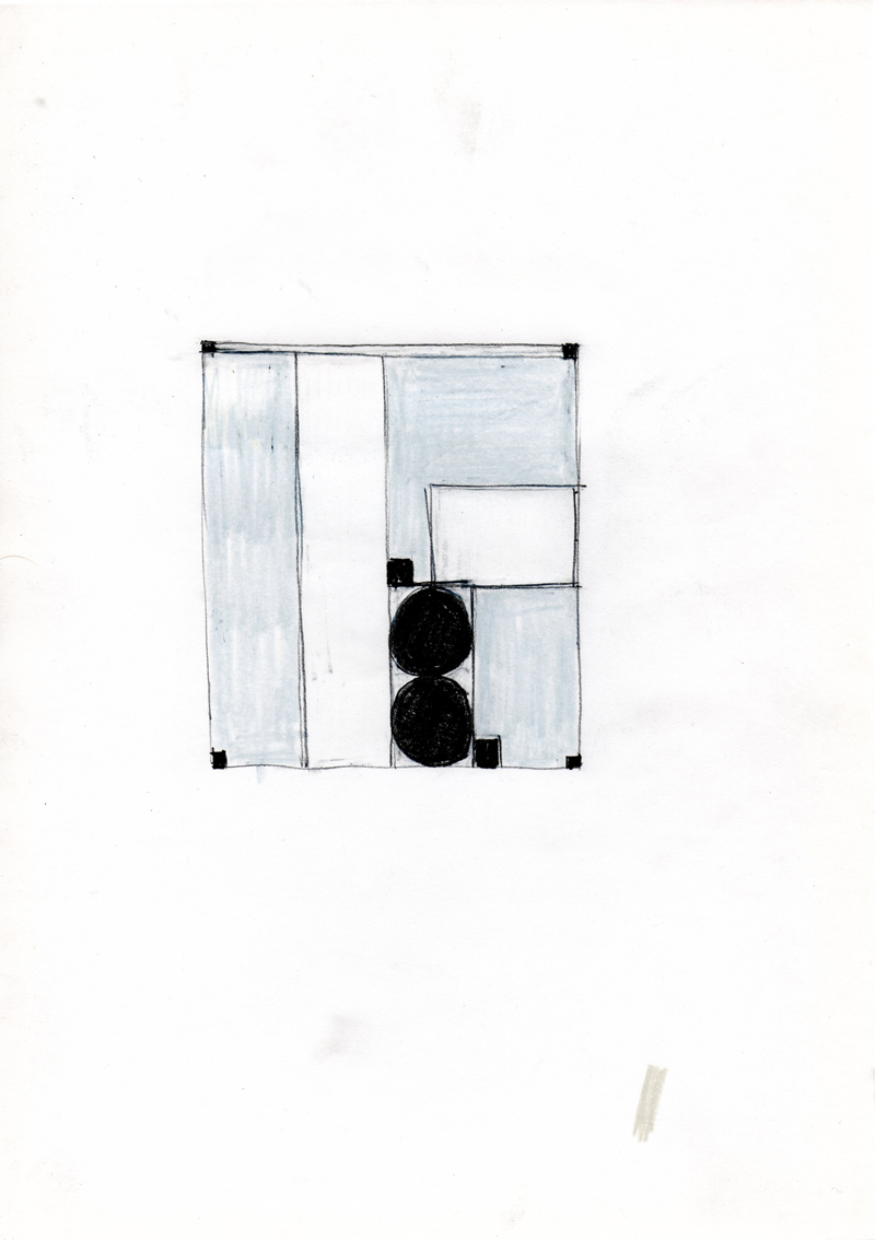 2202 , 2000-2013, pastel on paper, 21 x 29,7 cm