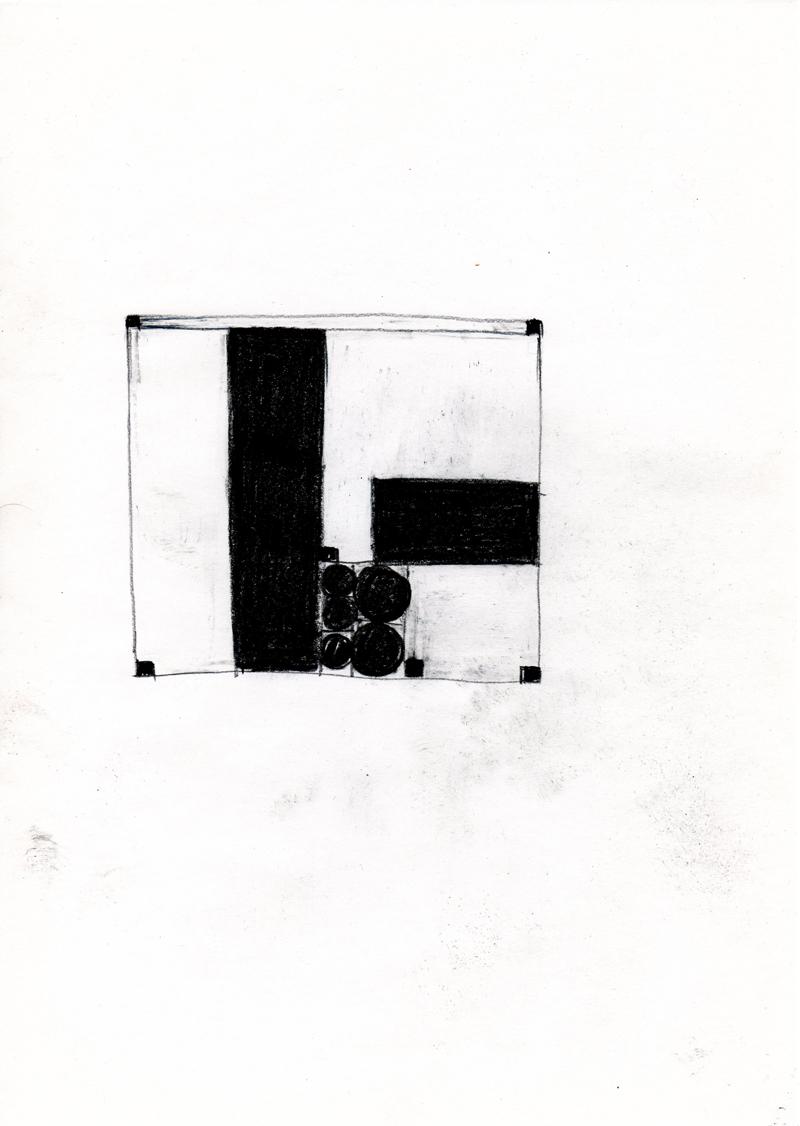2208 , 2000-2013, pastel on paper, 21 x 29,7 cm
