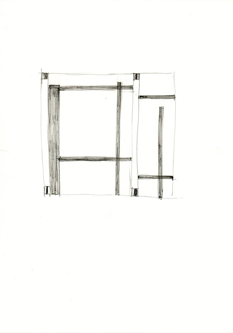 2033 , 2000-2013, pastel on paper, 21 x 29,7 cm