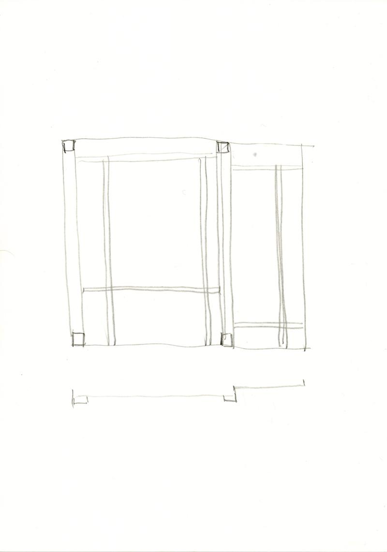 2034 , 2000-2013, pencil on paper, 21 x 29,7 cm