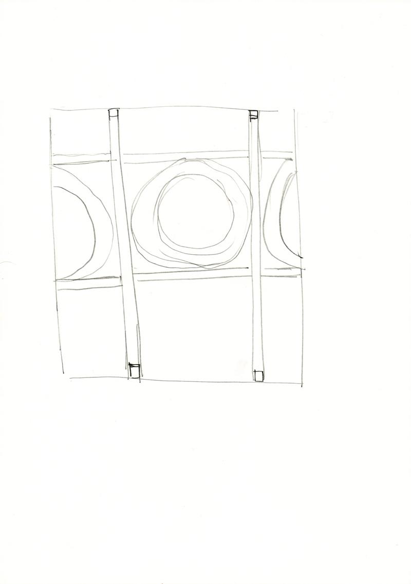 2050 , 2000-2013, pencil on paper, 21 x 29,7 cm