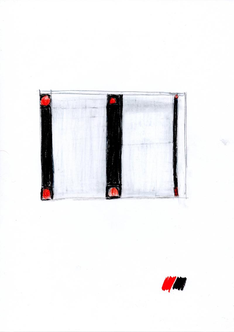 2027 , 2000-2013, pastel on paper, 21 x 29,7 cm