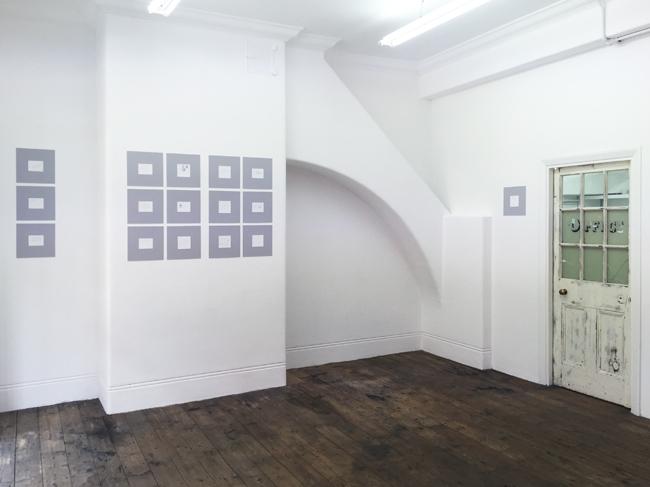 Tony Fretton   Minis, installation view