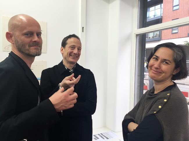 Tapio Snellman, Adam Caruso and friend Johana