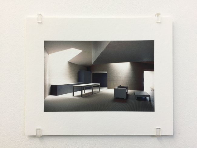 Caruso St John,  Brick House London (2001-2005) , photograph, 2017, 16.8 x 21 cm, edition of 7.