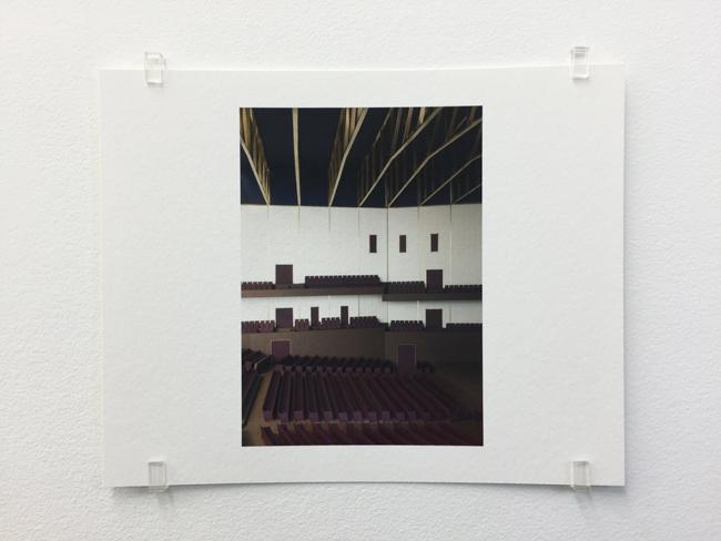 Caruso St John,  Koningin Elisabethzaal Antwerp (2010),  photograph, 2017, 16.8 x 21 cm, edition of 7.