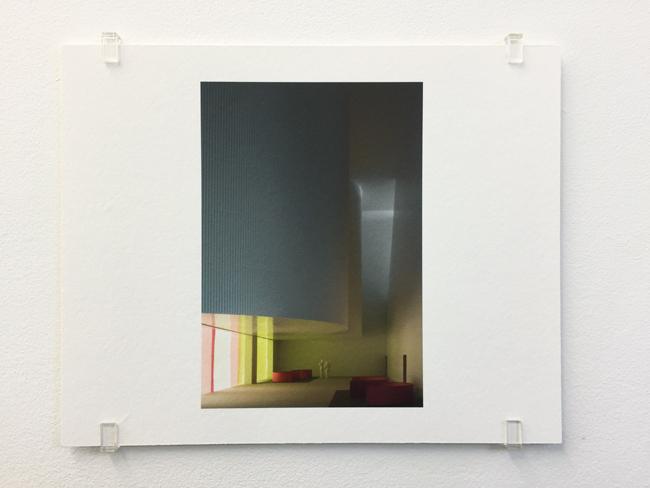 Caruso St John,  Cultural and Tourist Centre Ascona (2004) , photograph, 2017, 16.8 x 21 cm, edition of 7.
