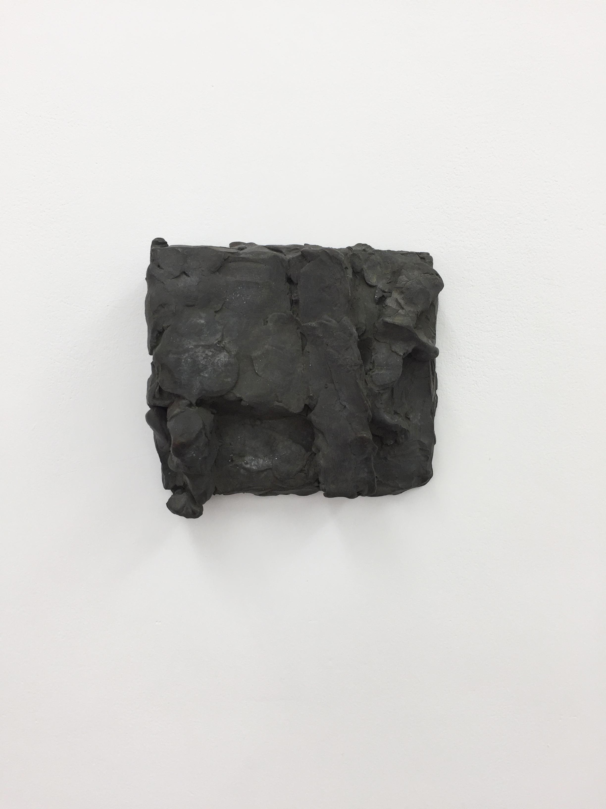 Hans Josephsohn, Untitled, 1997, Relief sketch, Brass, 13 x 14 x 6 cm