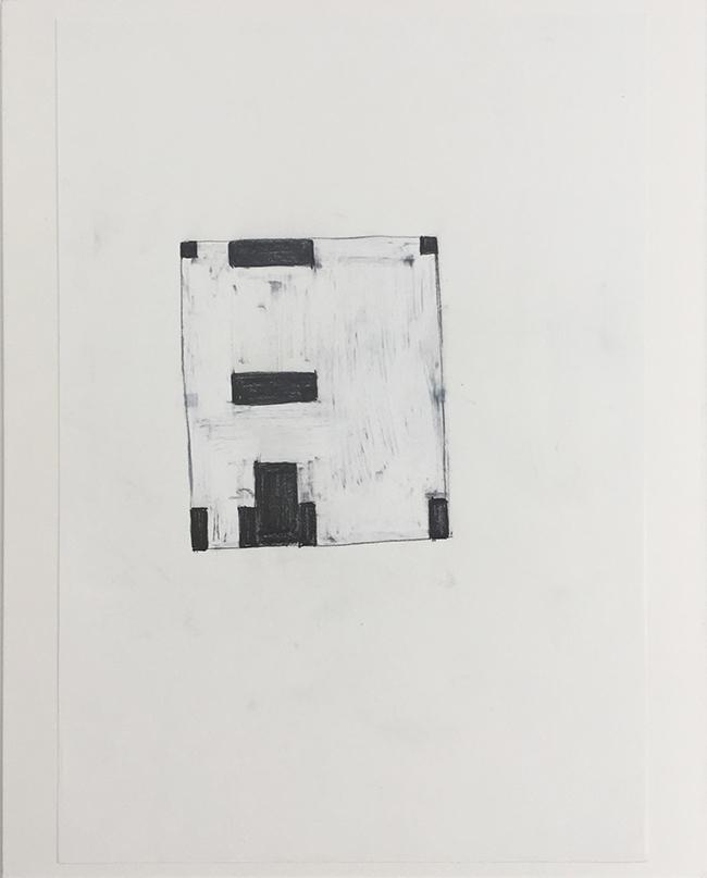 Language drawing 2272 , 2000-2010, pastel on paper, 29.7 x 21 cm
