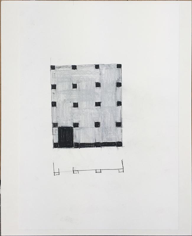Language drawing 2282 , 2000-2010, pastel on paper, 29.7 x 21 cm
