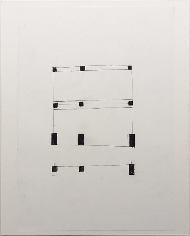 Language drawing 2294 , 2000-2010, pastel on paper, 29.7 x 21 cm