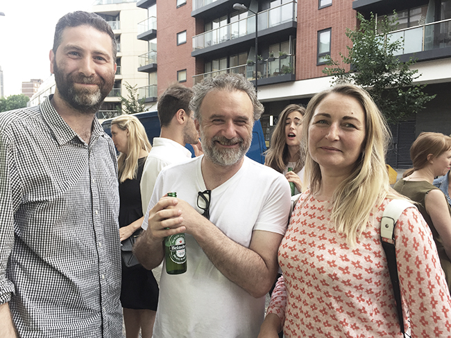 Matthew Butcher, Sean Griffiths and Louise McKinney