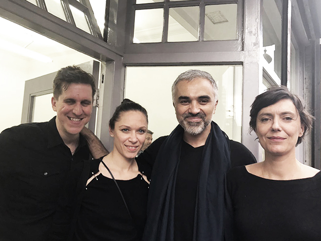 David Burns, Adrian Lahoud and Olivia, Marie Coulon (Betts Project)