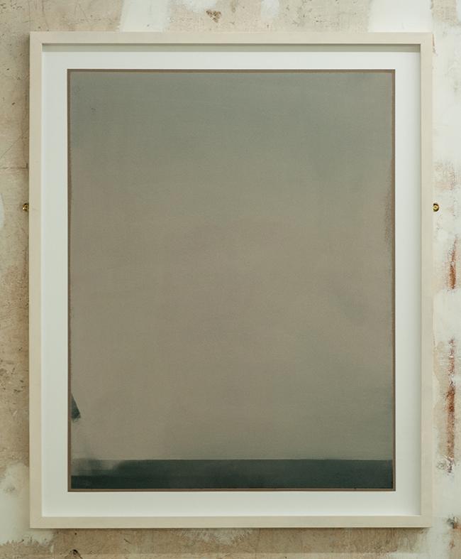 Untitled , 2009, dry pastel on paper, 65 x 50 cm (unframed), 75.5 x 61 cm (framed)