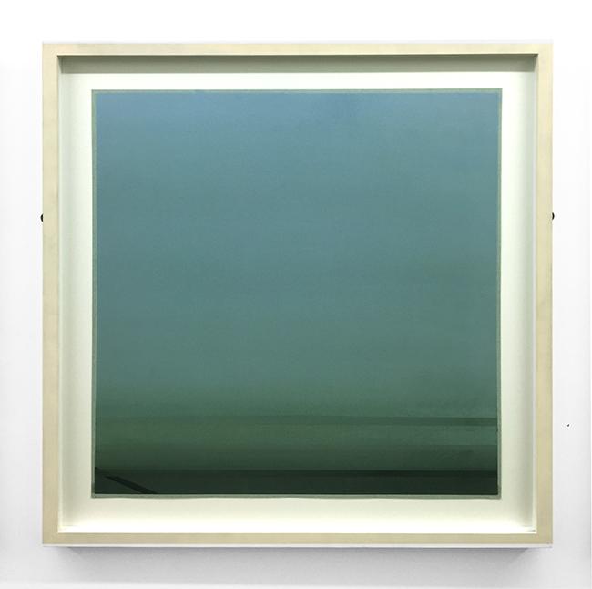 Untitled , 2012, dry pastel on paper, 50 x 50 cm (unframed), 61 x 61 cm (framed)