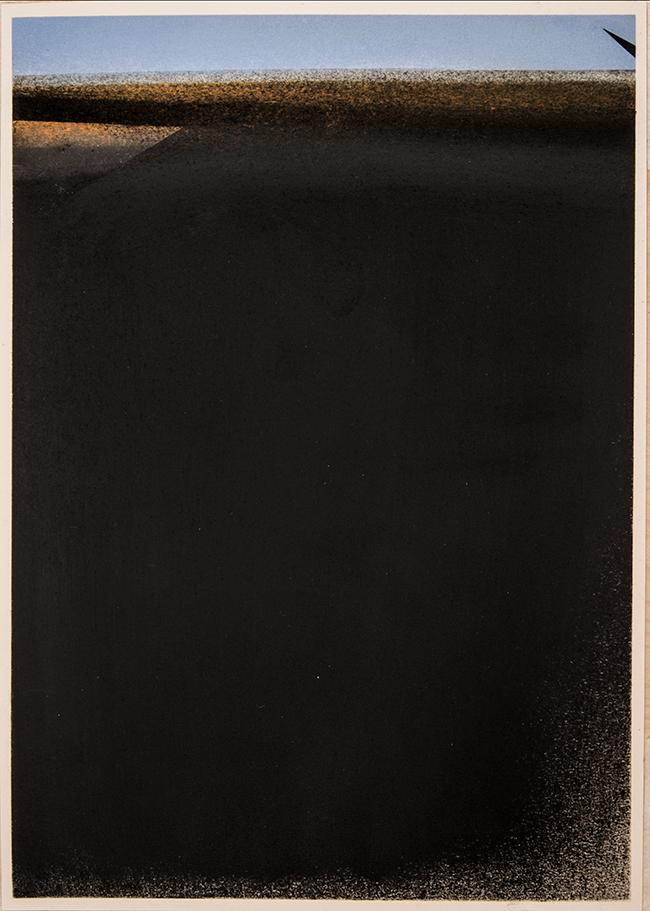 Untitled , 2017, dry pastel on paper, 42 x 29.7 cm (unframed), 49.5 x 37 cm (framed)
