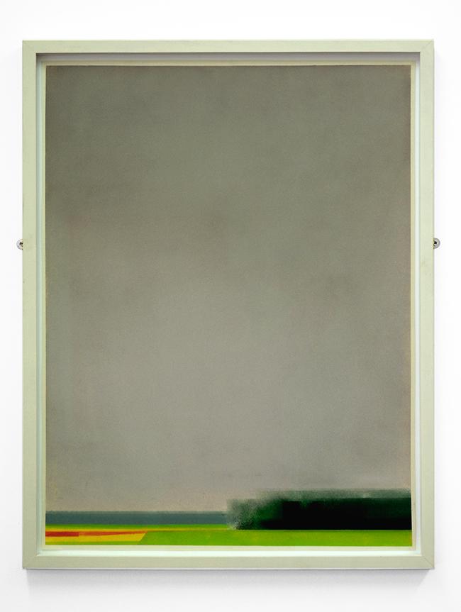 Untitled , 2017, pastel on paper, 65 x 50 cm (unframed), 69.5 x 54.8 cm (framed)