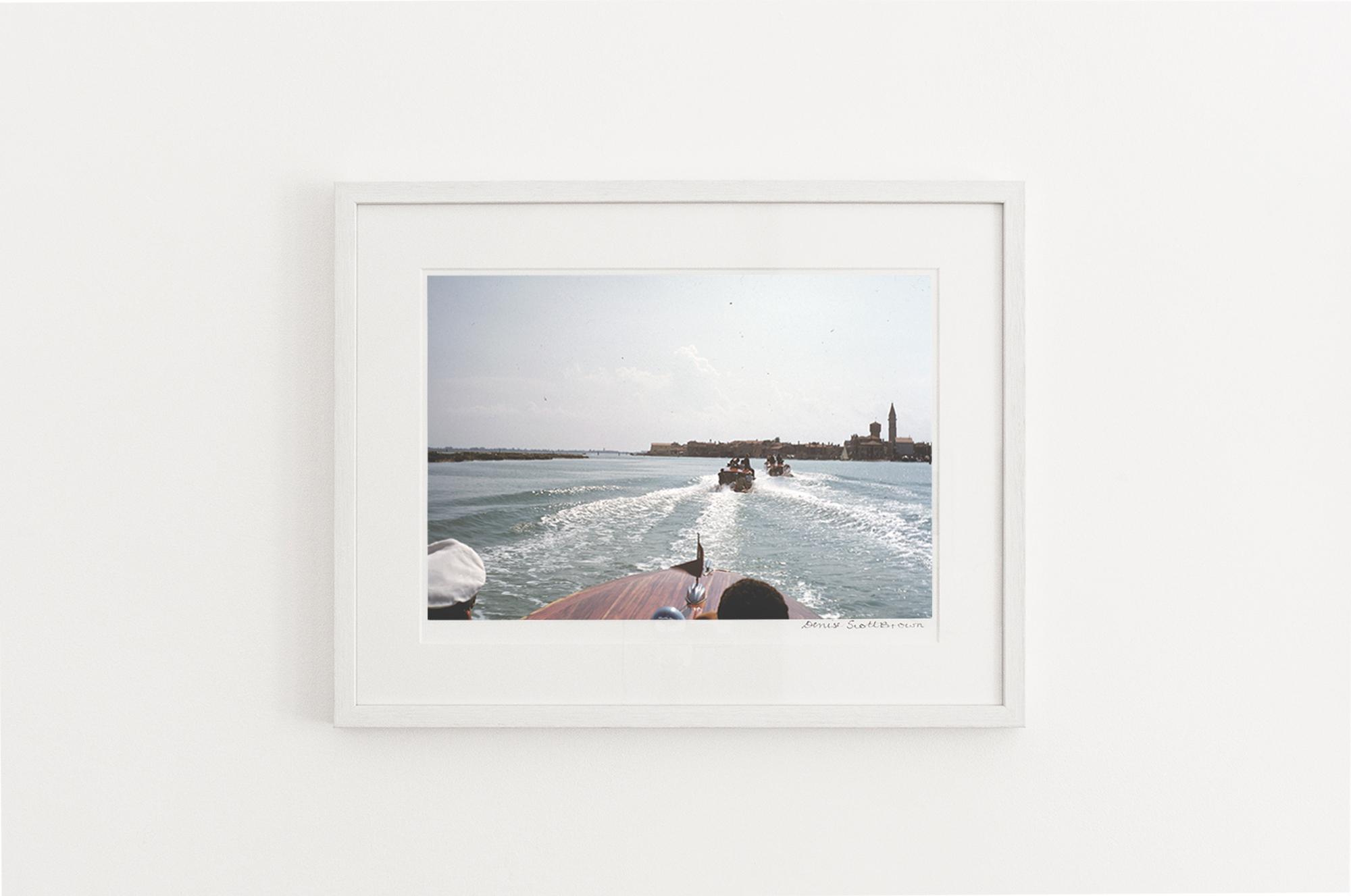Lagoon, Venice , 1956. Giclée pigment on Hahnemuhle archivalpaper, 45.5 x 30.3 cm (framed), Edition of 10