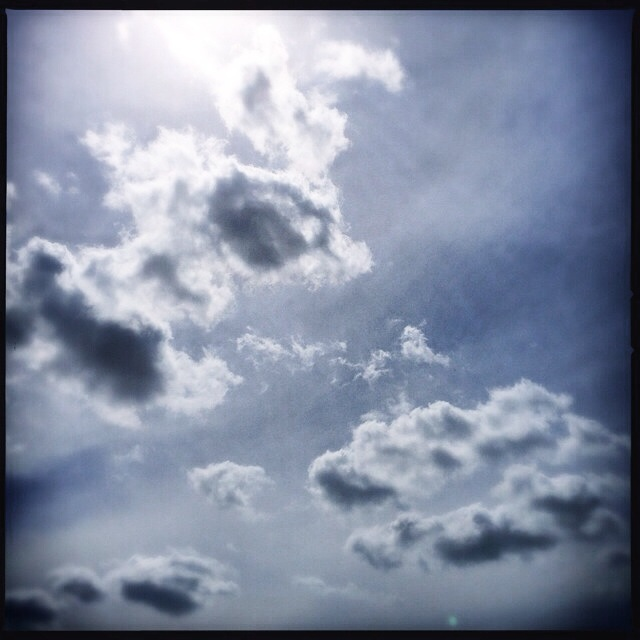 Clouds on monday, while they often contain rain, we can't life without them.
