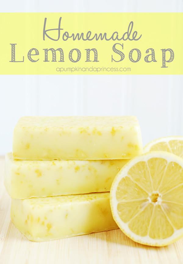 bron:http://apumpkinandaprincess.com/2013/05/homemade-lemon-soap-mothers-day-gift-ideas.html
