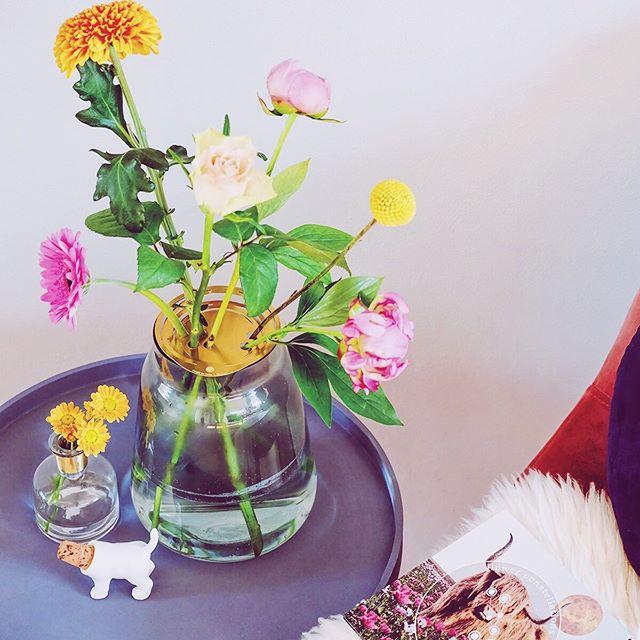 Een keer iets anders geven dan een bos bloemen? Dan is de #flowerconstellations van @houseofthol iets voor jou! Voor de verjaardag van onze moeder schikte wij deze prachtige bloemen in een waar kunststuk. Leuk detail, de gaatjes waar je de bloemen instopt zijn in haar sterrenbeeld de Stier.  Benieuwd naar het hele verhaal? Je leest het op de blog 😁 . . . #houseofthol #flowers #flower #flowerdesign #bloemschikken #bloemen #kleurrijk #colorful #art #artwork #cadeautip #present #sterrenbeeld #sign #pioen #pionies #flowerstagram #interior #interieur #interiorinspo #blog #decor #homedecor #vase #vaas #decoration