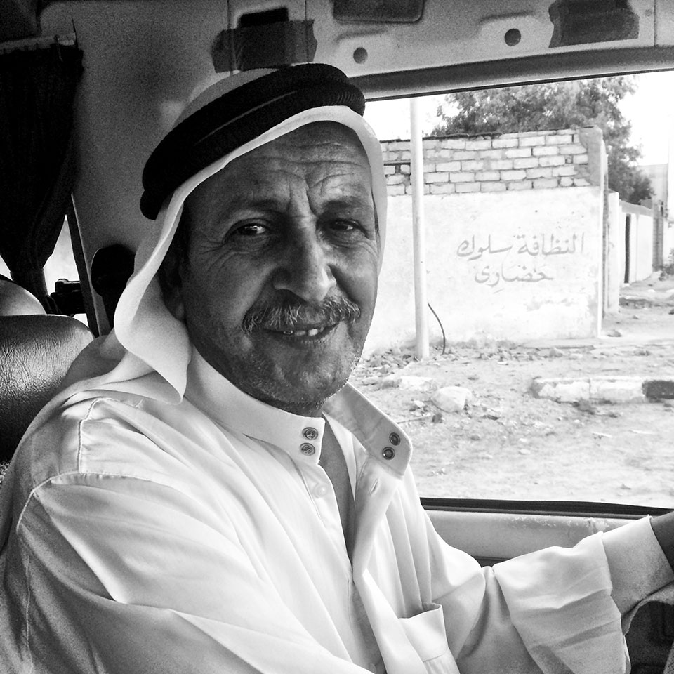 Suleiman is another one of our drivers and does many of our transfers.