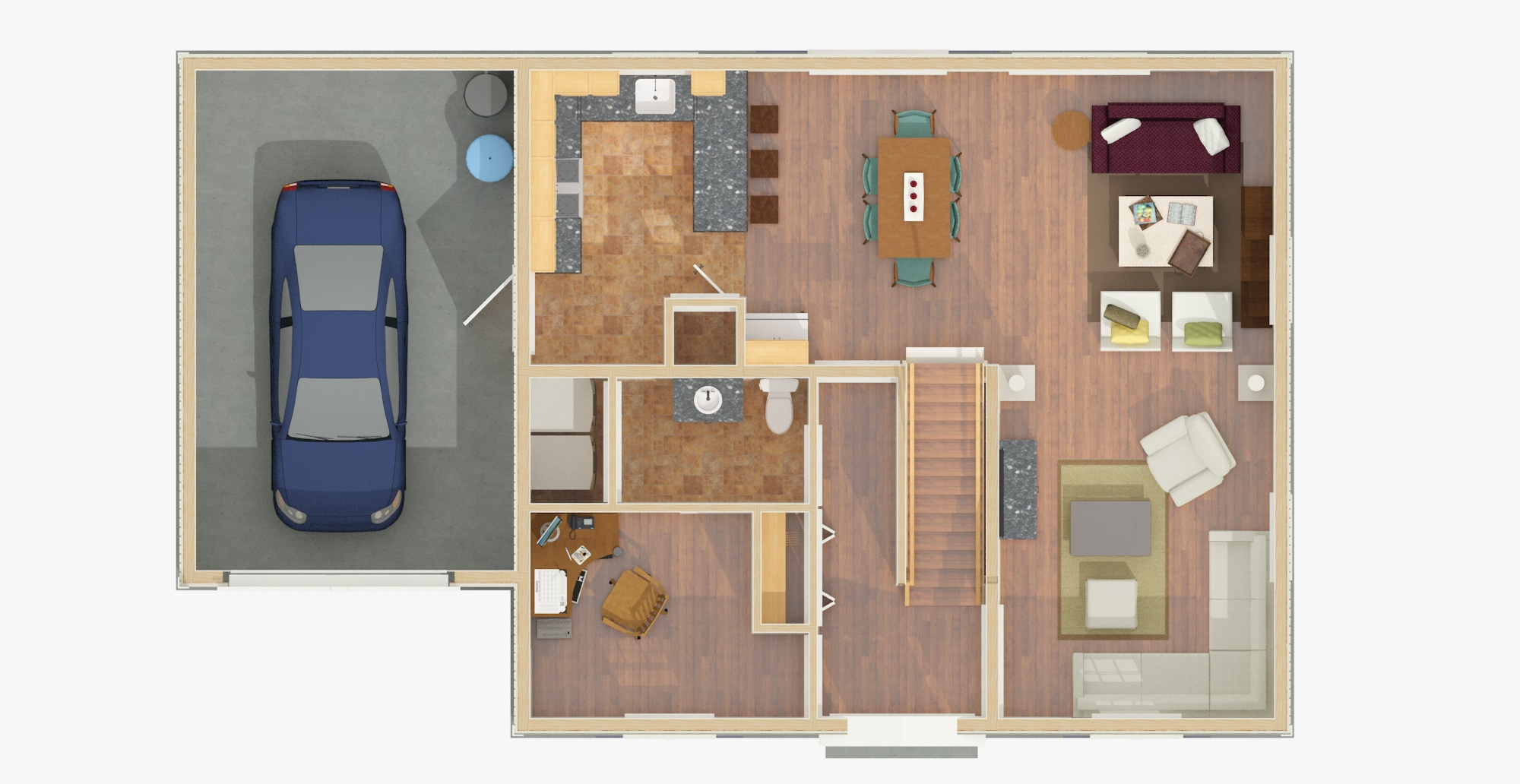 Plan Layout 1st Floor