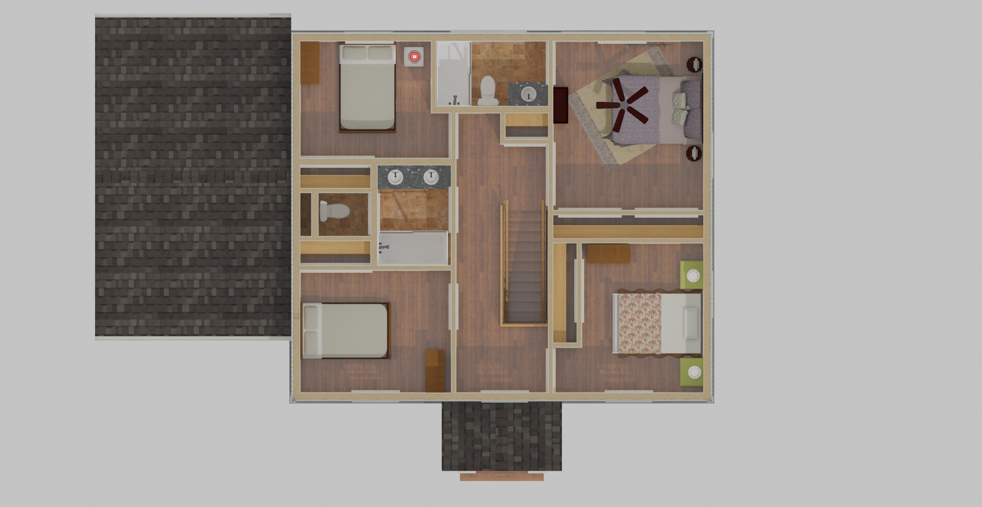 Plan Layout 2nd Floor