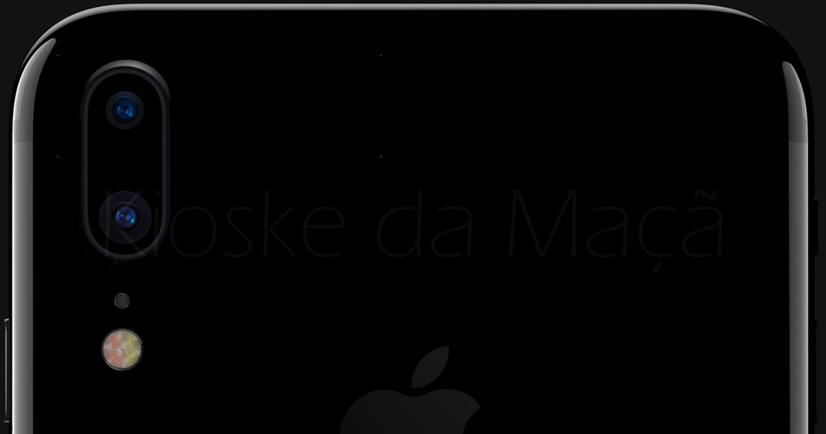 """Conceito """"iPhone 7s"""" com câmara vertical (by Kioske da Maçã)"""