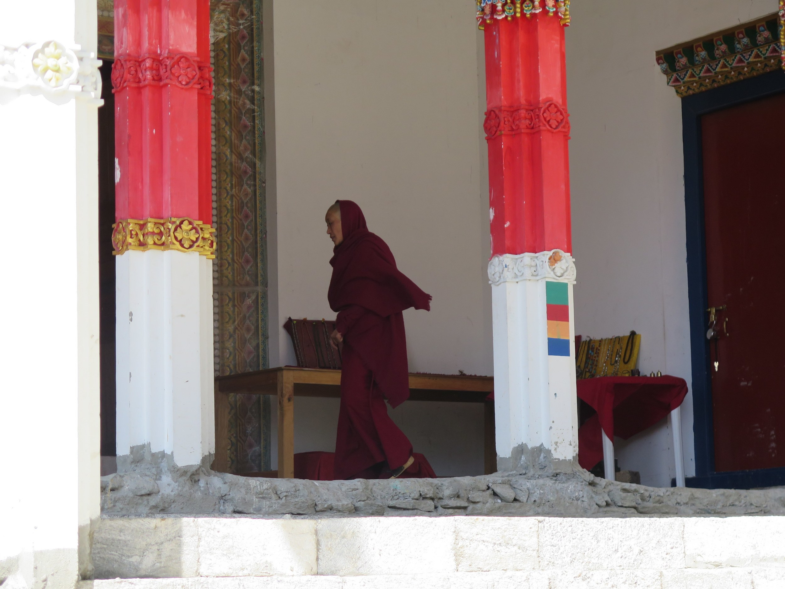 Rahibelerden biri / One of the nuns