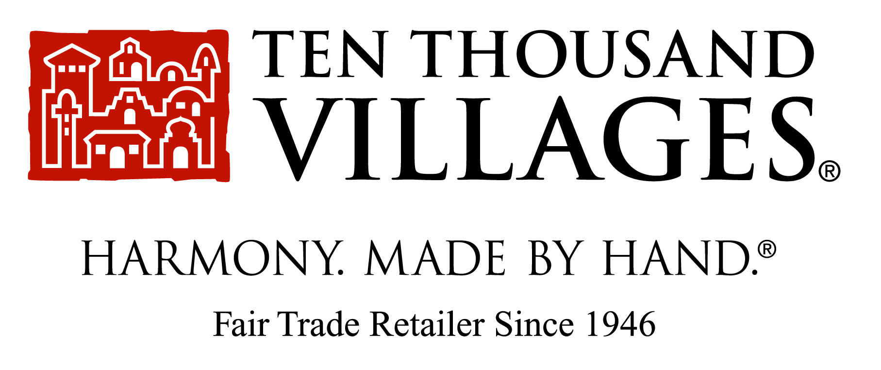 Ten Thousand Villages - Connected to artisans everywhereTen Thousand Villages finds and provides handmade gifts from artisans all around the world. All of their products are unique, and their toys have a charming simplicity that sets them apart. Founded in 1946, the company has grown from the trunk of founder Edna Ruth Byler's car to one of the world's largest fair trade organizations, and a founding member of the World Fair Trade Organization (WFTO). Today, it strives to improve the livelihood of tens of thousands of disadvantaged artisans in 38 countries.