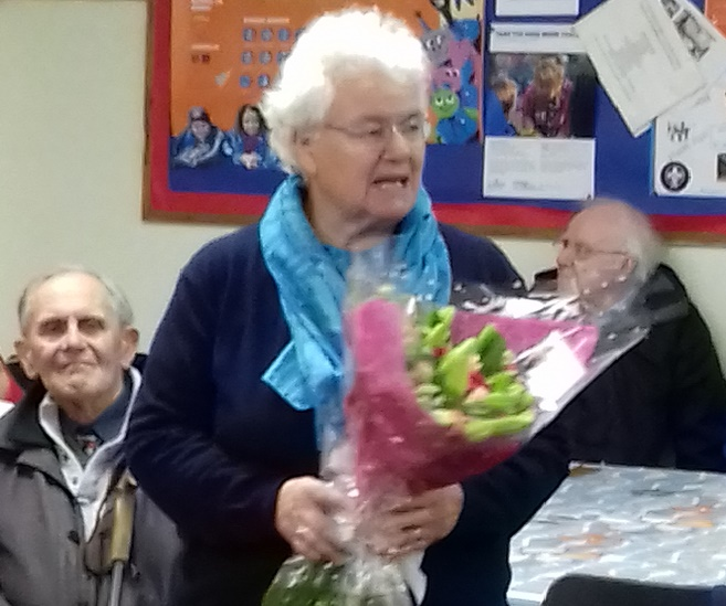 Ann retires after 10 years as Co-ordinator