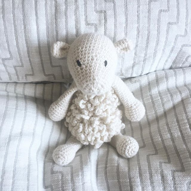 Latest in the collection for a special little boy born last week 👶🏼🐑