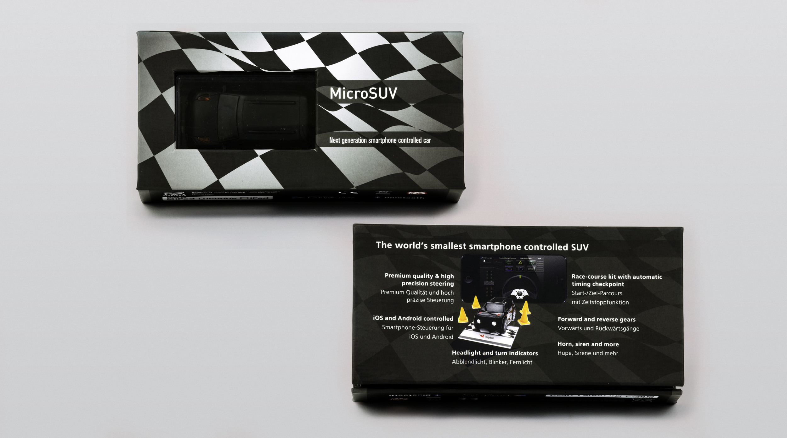final version of the packaging design printed