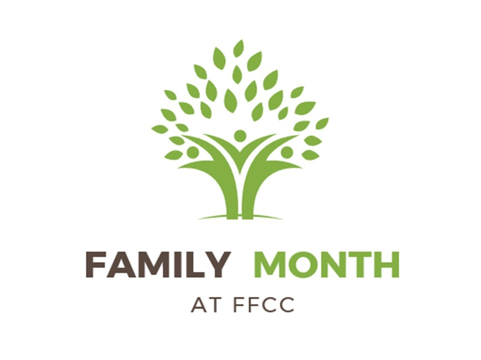 September is Family Month at FFCC  We encourage you to invite your family and friends throughout the month, specially for our Homecoming Celebration. Praise God for the gift of   family  .