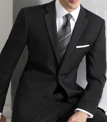 8024C Black Slim Fit Suit