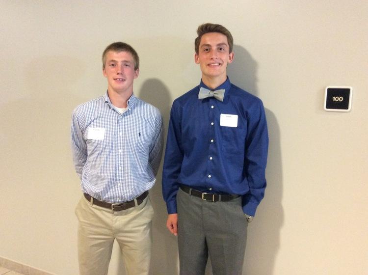 Caleb Rowland and Josh Wood