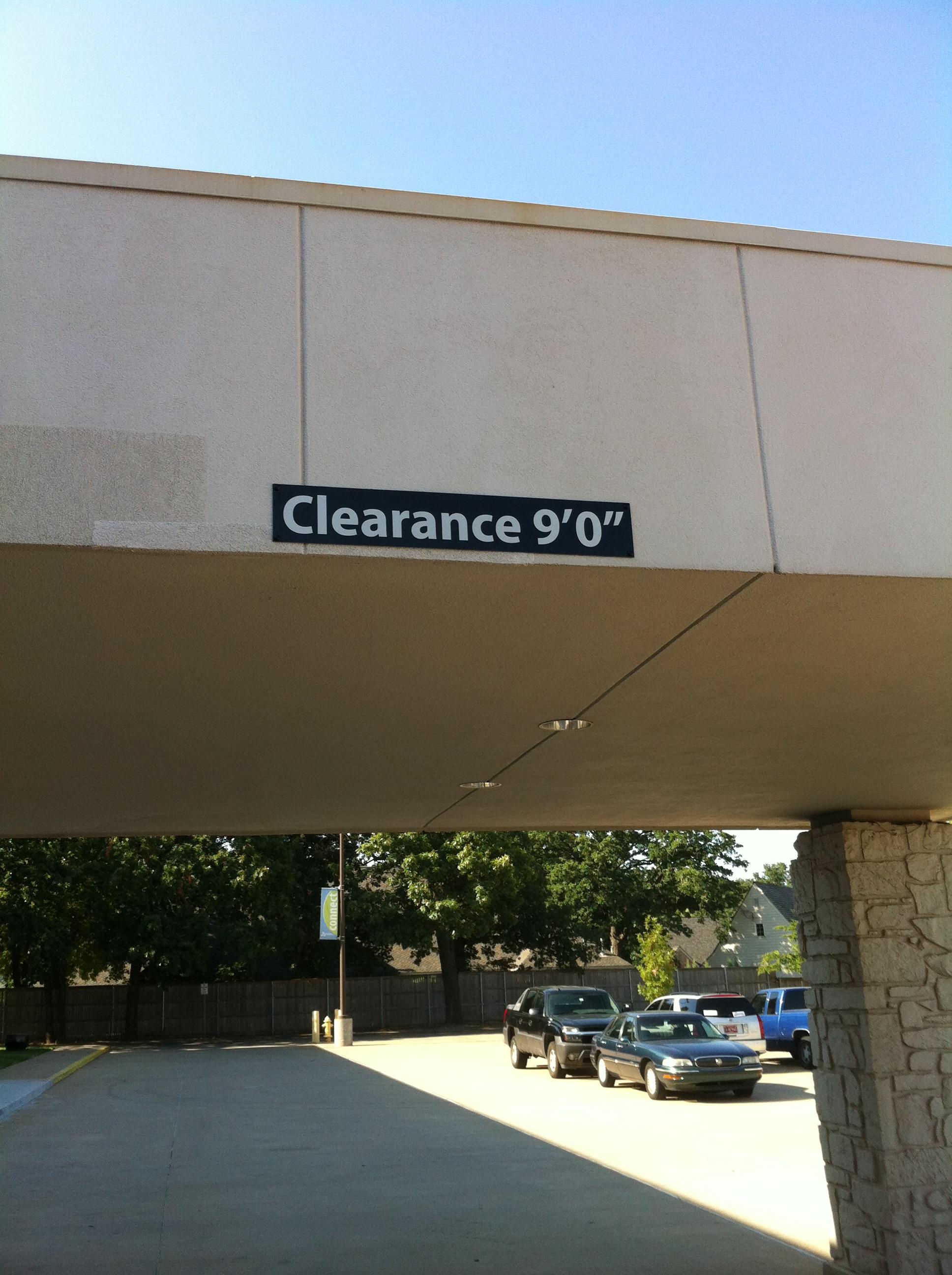 STBC Clearance Sign.JPG
